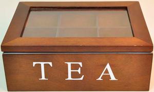 Деревянная коробка чая