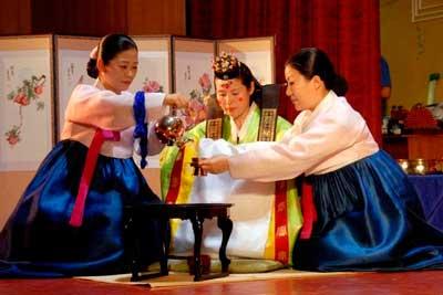 История корейского чая