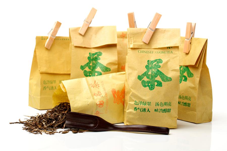 Виды упаковок чая