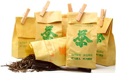 Бумажная упаковка для чая