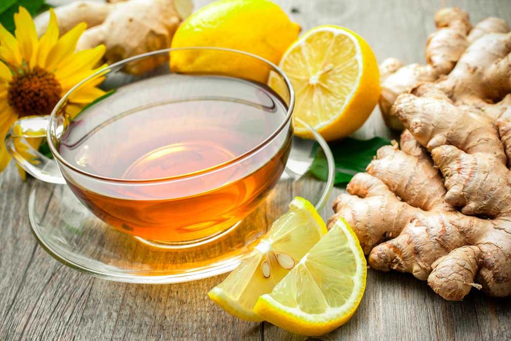 Имбирный чай корень