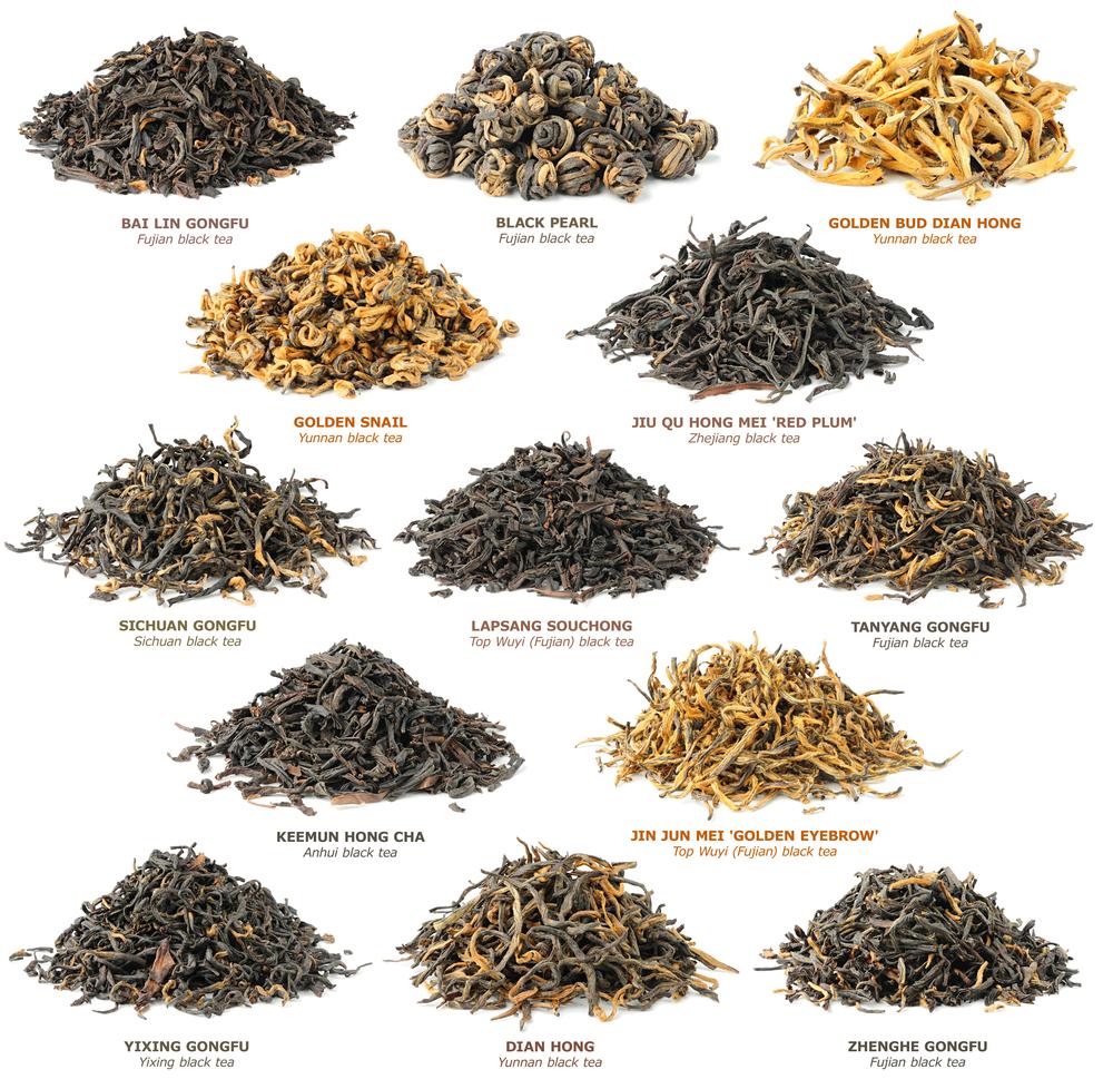 Сорта китайских чаев