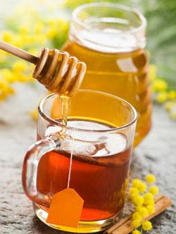 сколько калорий в зеленом чае с медом