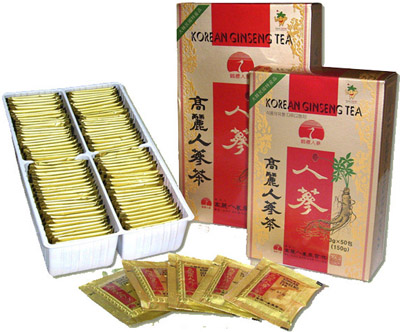 Корейский чай с женьшенем