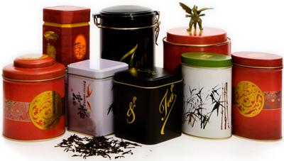 Жестяная банка чая