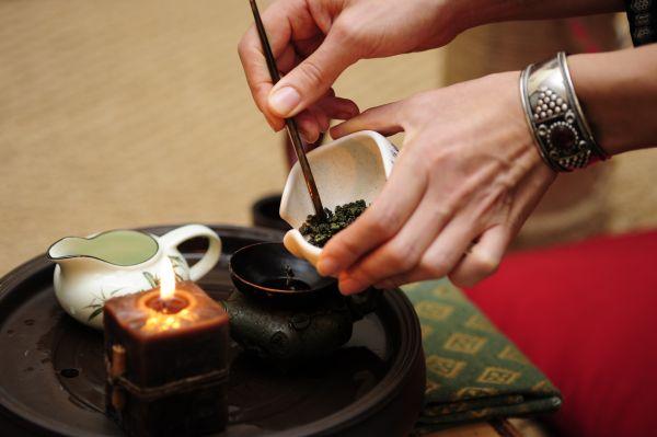 Старая заварка чая
