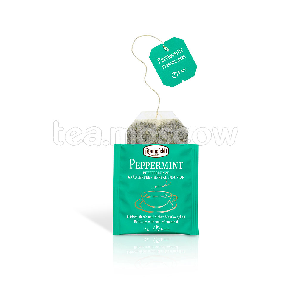 Чай Ronnefeldt Peppermint / Перечная мята в пакетиках 25 шт.х 1,5 гр