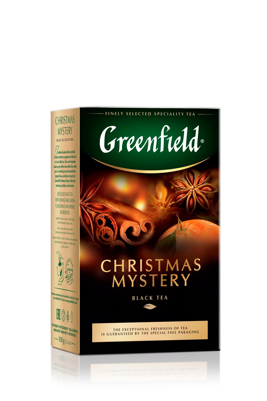 чай гринфилд Christmas Mystery