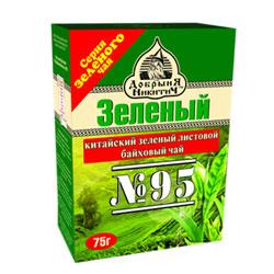 Чай Добрыня Никитич зеленый байховый №95 75 гр