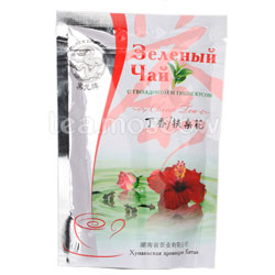 Чай Черный Дракон Зеленый с гвоздикой и гибискусом 100 гр