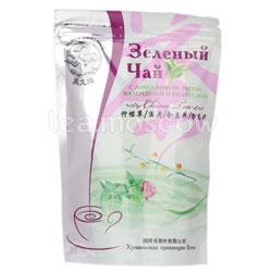 Чай Черный Дракон Зеленый с лимонником, мятой, календулой и незабудкой 100 гр