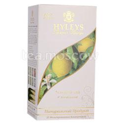 Чай Hyleys Гармония Природы зеленый с лимоном в пакетиках 25 шт х 1,5г