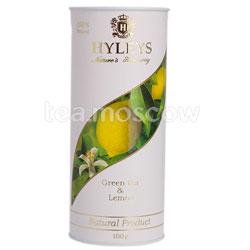 Чай Hyleys Гармония Природы Зеленый с лимоном 100 гр (туба)