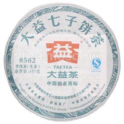 Пуэр блин Tae Tea 8582 шен 357 г