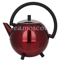 Duet Saturn чайник заварной с двойной стенкей 1,2 л красный 111
