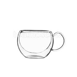 Чашка-термос Hot Лилия с ручкой 260 мл