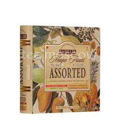 Чай Basilur Чайная книга Волшебные фрукты Ассорти 32 пакетика