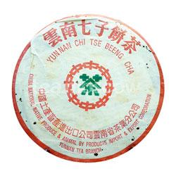 Пуэр блин 1982 года Юннаньский Чи Цзе Бин Ча 357 г