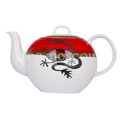 Чайник фарфоровый Восточный Дракон 1.2 л