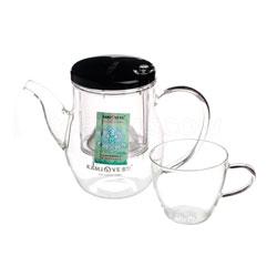 Чайник стеклянный Типод Гунфу 500 мл+2 чашки (К-327)