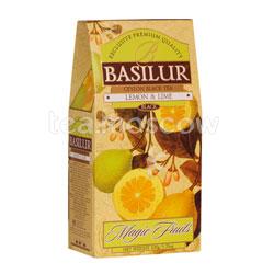 Чай Basilur ВОЛШЕБНЫЕ ФРУКТЫ Лимон и Лайм 100 г