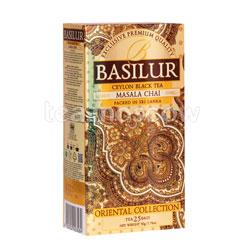 Чай Basilur ВОСТОЧНАЯ Масала в пакетиках 25шт х 2г