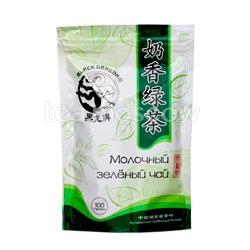 Чай Черный Дракон Молочный зеленый чай 100 гр