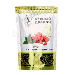 Чай Черный Дракон Молодость и Красота Улун с ягодами годжи 100 гр