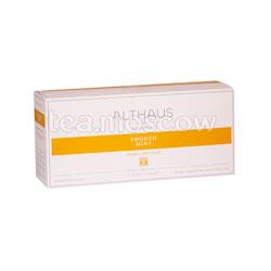 Чай Althaus Smooth Mint/Смут Минт Мята Пакетики для чайника 15шт.x3 гр