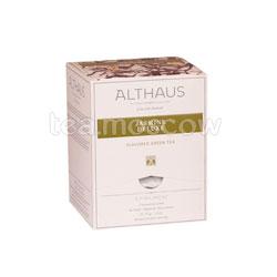 Чай Althaus Jasmin Delux/Жасмин Делюкс Пирамидки для чашки 15шт.x2.75 гр
