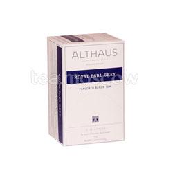 Чай Althaus Royal Earl Grey/Ройал Эрл Грей Пакетики для чашки 20шт.х1,75 гр