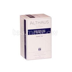 Чай Althaus Darjeeling Castelton/Дарджилинг Кастелтон Пакетики для чашки 20шт.х1,75 гр
