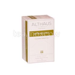 Чай Althaus Grun Matinee/Грюн Матинэ Пакетики для чашки 20шт.х1,75 гр