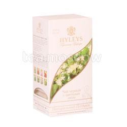 Чай Hyleys Гармония Природы Черный с цветками липы в пакетиках 25 шт х 1,5 г
