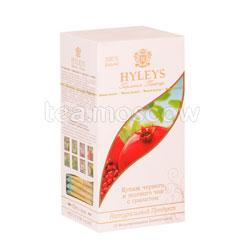 Чай Hyleys Гармония Природы Купаж Черный и зеленый с гранатом в пакетиках 25 шт х 1,5г