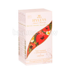 Чай Hyleys Гармония Природы Черный с шиповником и каркаде в пакетиках 25 шт х 1,5г