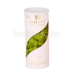 Чай Hyleys Гармония Природы зеленый с мятой 100 гр (туба)