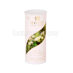 Чай Hyleys Гармония Природы Черный с цветками липы 100 гр (туба)