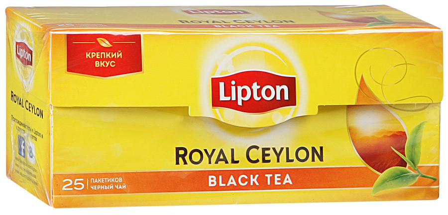 Чай Lipton Royal Ceylon черный (пак.)