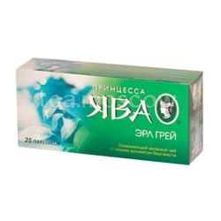 Принцесса Ява Эрл Грей зеленый в пакетиках  25 шт