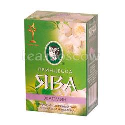Чай Принцесса Ява Жасмин листовой зеленый 100 гр