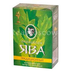 Чай Принцесса Ява Традиционный листовой зеленый 200 гр