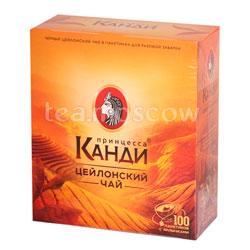 Чай Принцесса Канди Цейлон черный 100 пак.