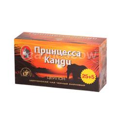 Чай Принцесса Канди черный 30 пак. б/я
