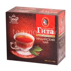 Чай Принцесса Гита Черный 2гр-100шт в пакетиках б/я