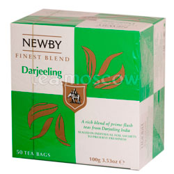 Пакетированный Newby Дарджилинг 50 шт