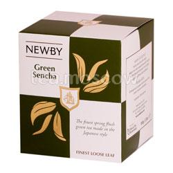 Чай листовой Newby Зеленая сенча 100 гр
