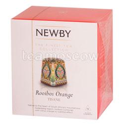 Чай Newby Ройбус и апельсин в пирамидках 15 шт