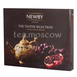 Подарочный набор Newby классика вкуса в пирамидках 4 вида