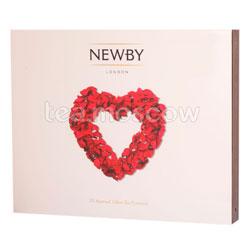 Подарочный набор Newby Сердце в пирамидках 4 вида